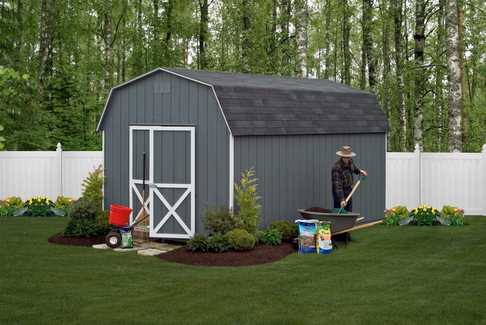 18-Barn6-DarkGray-10×16 mini barn starting 2400 as shown 3910