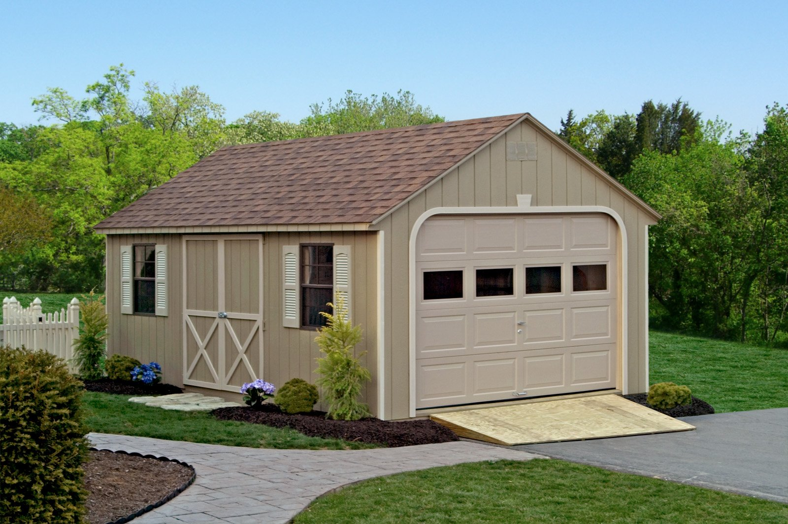 Cape Cod Garage 12x20 The Shed Haus