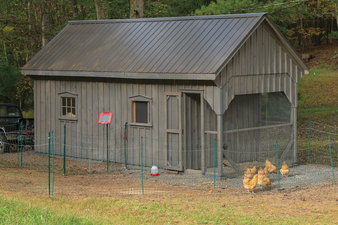 En Coop Storage Shed Combo With Loft 10 X 24
