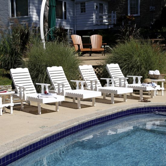 Poly Outdoor Poly Chaise Lounge