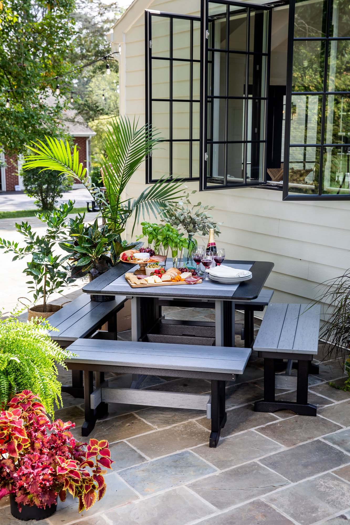 Dining-Benches-and-Table