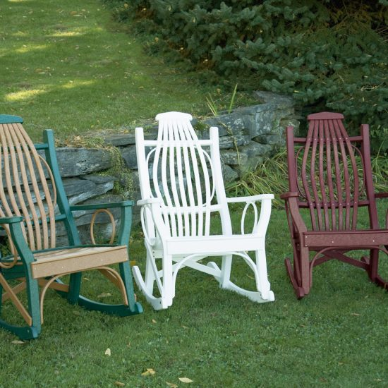 Poly Outdoor Deluxe Rocker