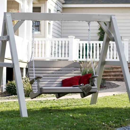 Poly Outdoor Deluxe Swing