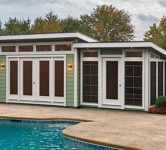 Modern Deluxe Poolhouse