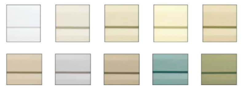 custom vinyl siding shed colors