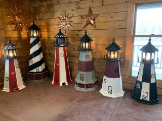 🚨 New Lighthouses 🚨 head over to our Facebook and check out the Current Inventory photo album for all the details