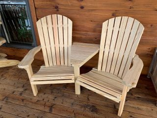 Looking for Adirondack Chairs ? We have them in stock. Wood & Poly available. And our favorite is the Settee ! 2 chairs with a little table space connecting the 2. Perfect for sunsets and sunrises. Bonfires (not the chairs of course lol) or a nice coffee break enjoying the outdoors. #adirondackchairs #woodchairs #polychairs #amishmade #handmade #handmiadeamish #hudsonvalley #dutcchesscounty #pawling #theshedhaus #bonfires #sunsets #sunrise #outdoors #backyardgarden