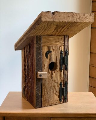 How adorable is this is Outhouse Birdhouse ? Available for order.  We also have Outhouse Well Covers and Outhouse Storage Sheds available. #amish #amishmade #handmade #handmadeamish #birdhouse #outhouse #rusticbirdhouse #wellcover #shed #storageshed #authenticamish #authenticamishcraftsmanship #hudsonvalley #dutchesscounty #theshedhaus #pawling #ny #newyork #pawlingny #pawlingnewyork #nature