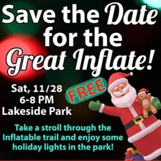 Who else is really excited for the Great Inflate !? We're looking forward to a nice stroll through the trail. @pawlingrec