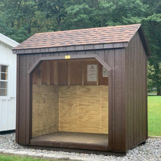 🚨PRICE CUT ALERT🚨 This 6x8 Cape Cod Run In Shed is now over $700 off its regular price.  Call or message for pricing and all the details on how to make this yours.  Need a bus stop spot for the kids or neighborhood?  Perfect for storing garden tools, firewood and even garbage cans.  Need an open yet protected area for your portable generator ? This just may be the key.  🚦Only 1 available. Ready for delivery 🚦
