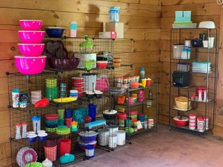 I bet you didn't know that @theshedhaus  has Tupperware 🙃 Stop in for some quick gifts.  Need replacement parts ? Ask for Kathleen and she'll get you taken care of. #tupperware