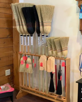 Amish Brooms are a favorite around here.  They are great brooms to have inside the home or for garage/basement clean up.  But our favorite is how great they do when used outside.  After mowing your lawn and your walkway is full of grass, sweep it off easily ! We also have Fireplace Brooms available too ! •wink wink - we also use one to clean off the sheds after the landscapers come • #amishmade #handmade #handmadeamish #theshedhaus #dutchesscounty #hudsonvalley #smallbusiness #supportsmall #suppottlocal #pawling #pawlingny